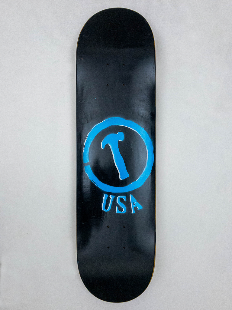 "8.25"" Hand Painted Deck #15"