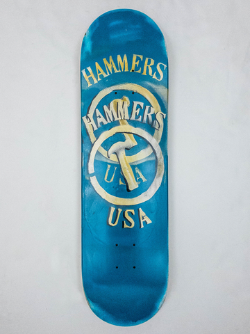 "8.5"" Hand Painted Deck #17"