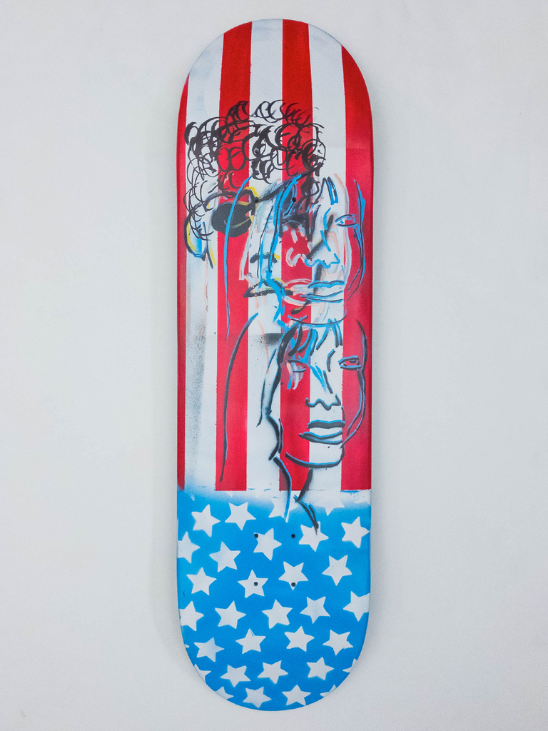 "8.675"" Hand Painted Deck #2"