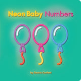 Neon Baby Numbers by Electric Confetti