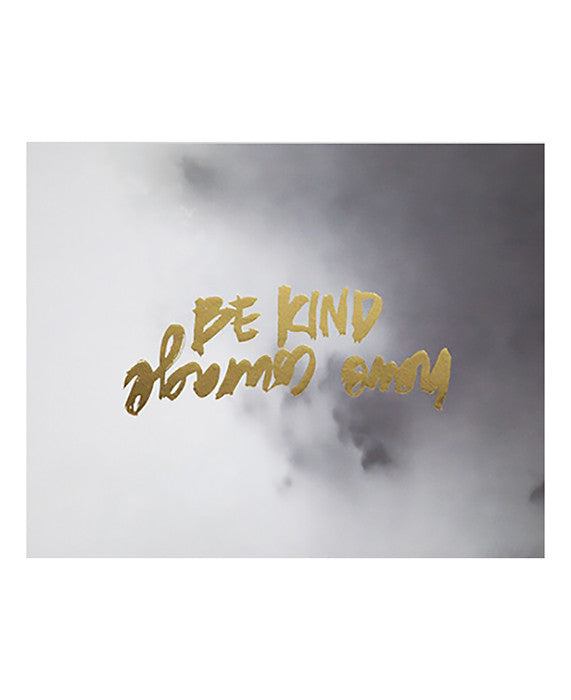 RACHEL KENNEDY DESIGNS | BE KIND/HAVE COURAGE - Daisy Chain Store