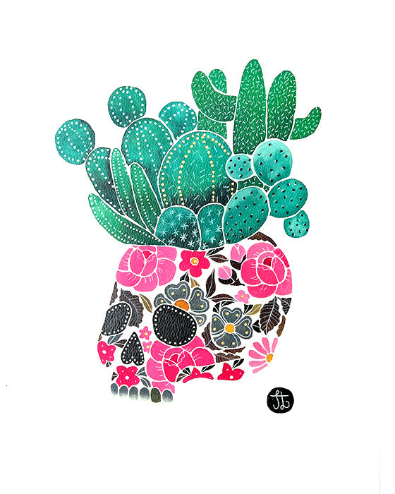 MISS JESSICA LEIGH | SKULL CACTUS - Daisy Chain Store