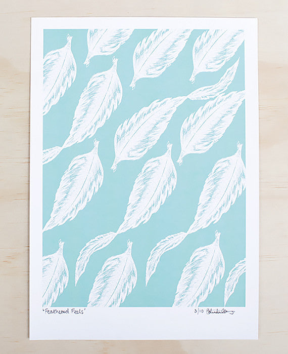 BELINDA GILLIES | FEATHERED FEELS ARTPRINT - Daisy Chain Store