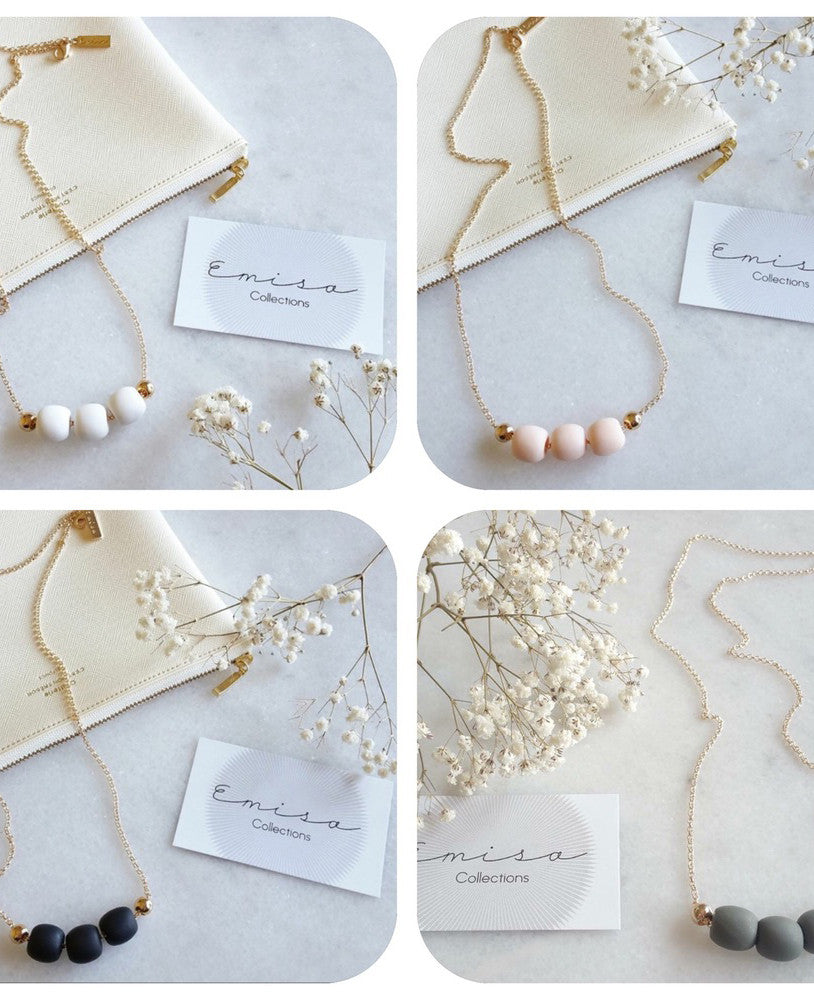 EMISA COLLECTIONS | GOLD BASICS NECKLACE - Daisy Chain Store