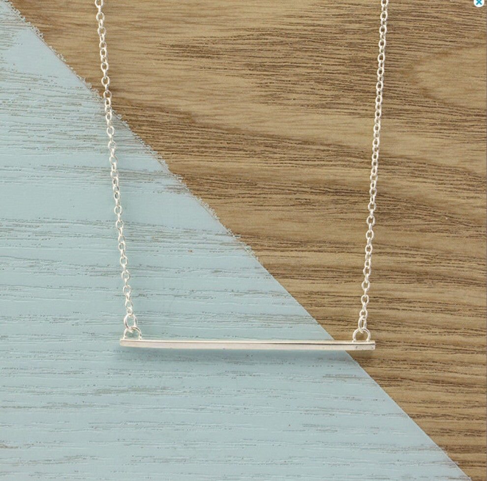 AYANA JEWELLERY FINE LINES NECKLACE - Daisy Chain Store