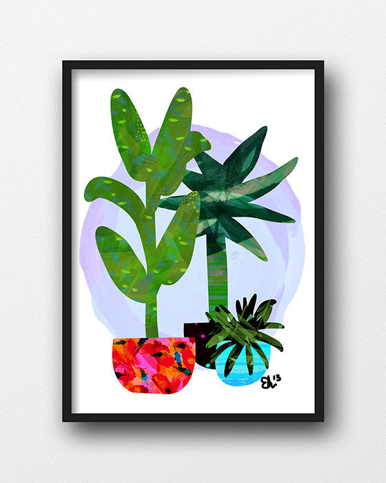 EVIE KEMP | POTTED 3 - PURPLE - Daisy Chain Store