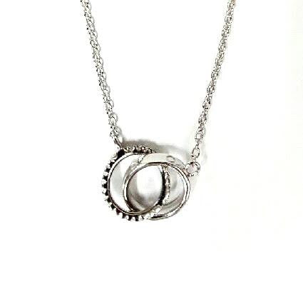 """Love Rings"" Necklace"