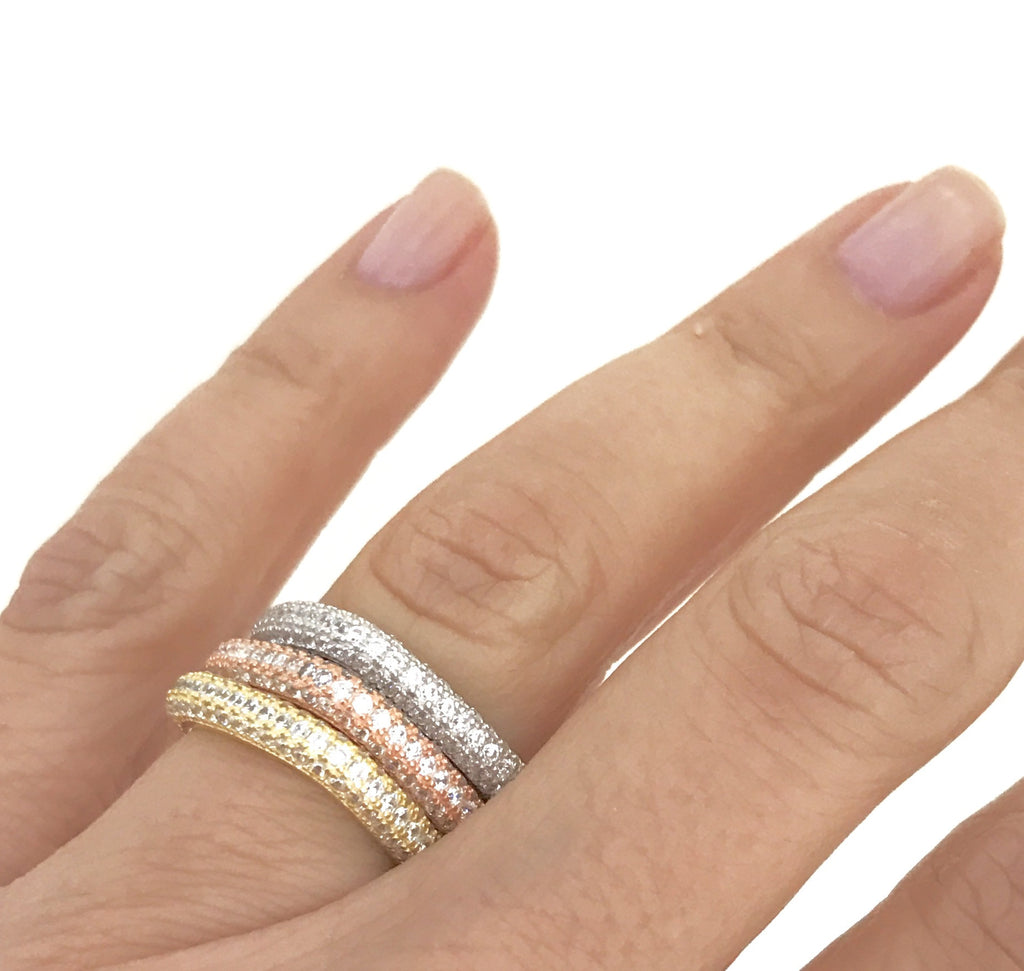 Square Stack Rings