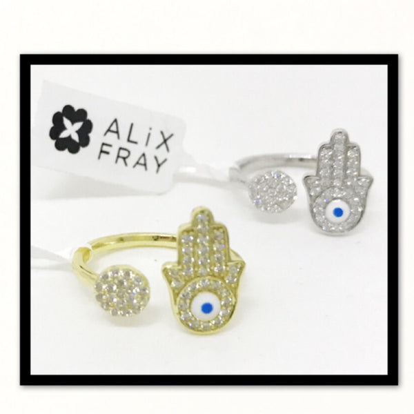 Happy Hamsa Ring