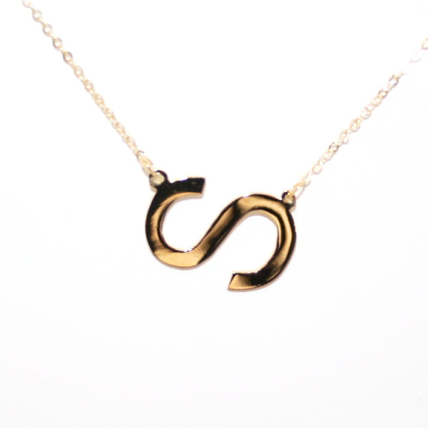 """Small"" Initial Necklace"