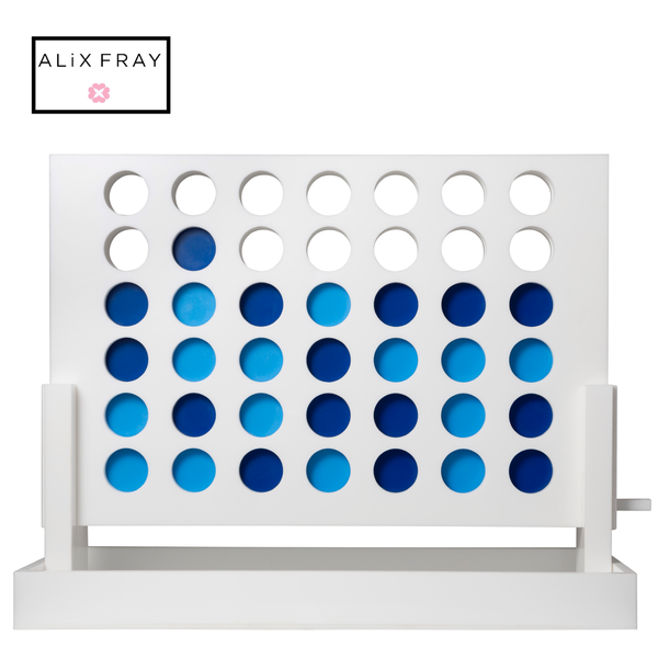 Connect 4 in a Row Acrylic Game