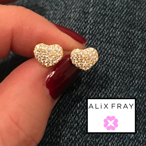 """Mini"" Heart Earrings"
