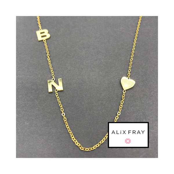 """Initial Love"" Necklace"