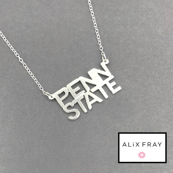 College Time Necklace