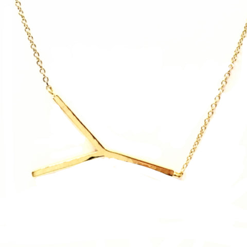 Y initial necklace alix fray y initial necklace alix fray aloadofball Images