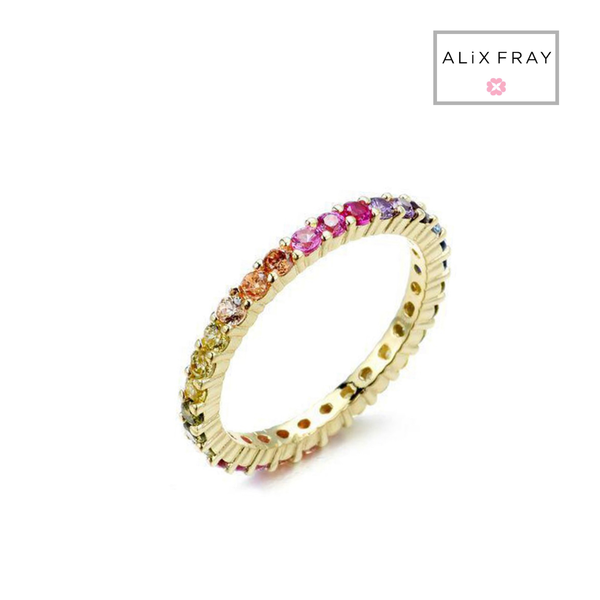 Thin Eternity Band Duo