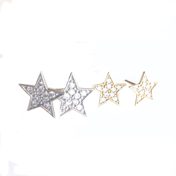 Super Star 14kt Earrings