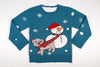 Adult Ugly Christmas Sweater Tug O' War