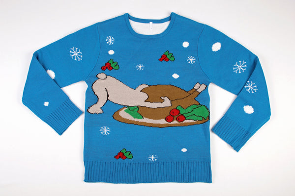 Adult Ugly Christmas Sweater Turdogen
