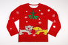 Adult Ugly Christmas Sweater - Pooch Smooch