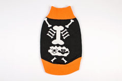 Halloween Dog Sweater Dog Skeleton
