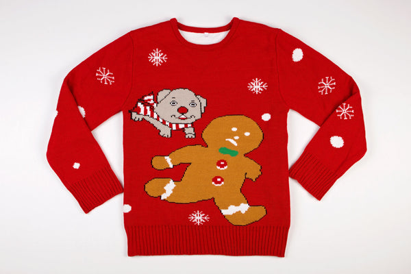Adult Ugly Christmas Sweater - Time for Treats