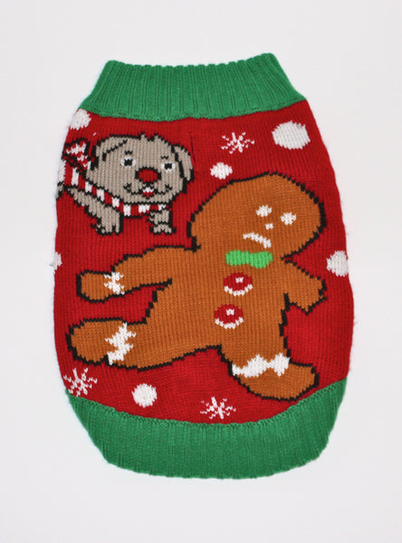 Dog Ugly Christmas Sweater Time for Treats