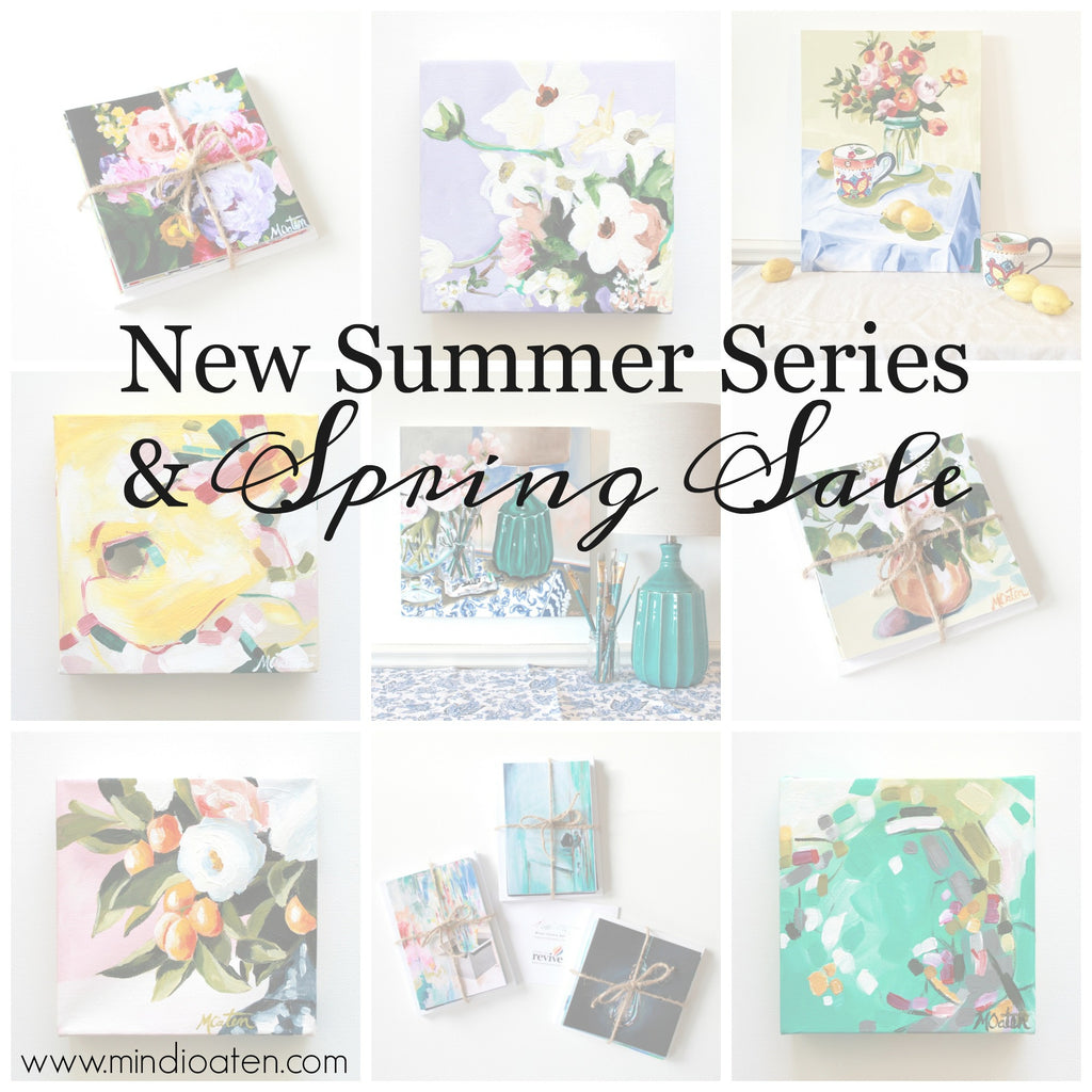 New Summer Art Series & Spring Sale | Now Available