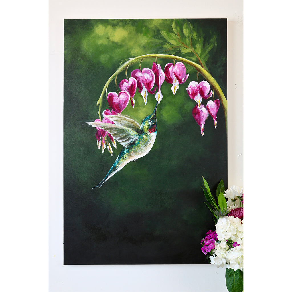 New Painting | The Hummingbird Pause, Selah