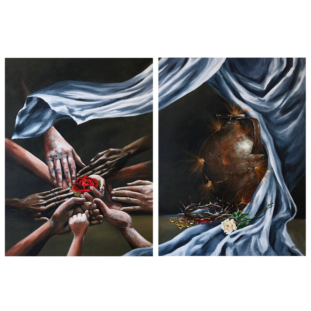 1 & 2 Corinthians | Our Unity & Our Down Payment - Prophetic Christian Fine Art by Mindi Oaten Art