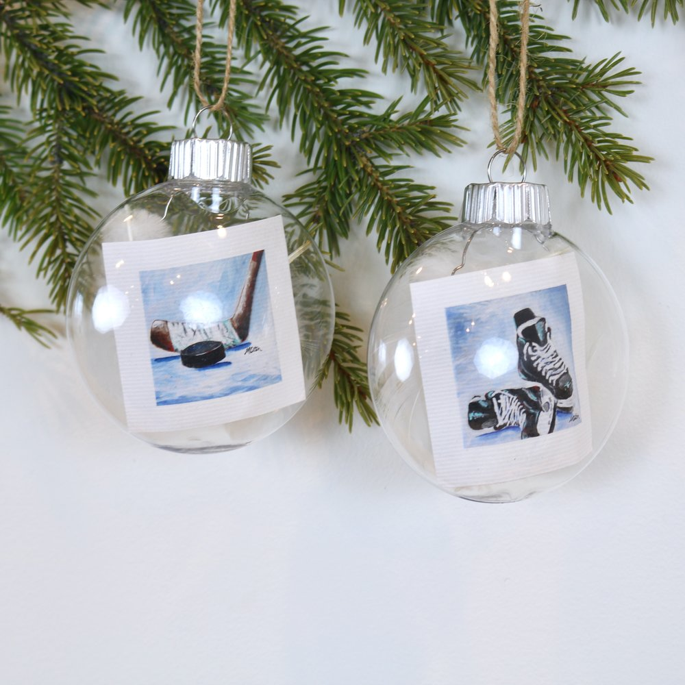 """Hockey Season"" - ornament 
