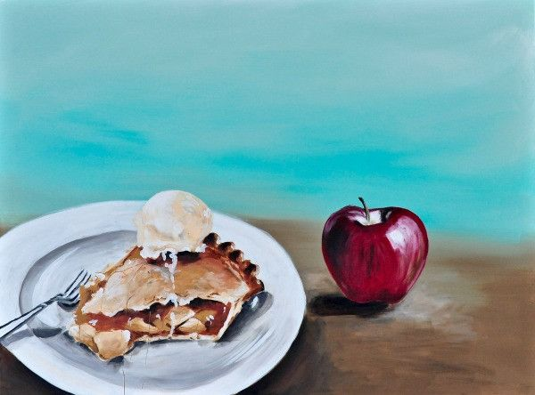 Apple Delight - Fine Art Print - Prophetic Christian Fine Art by Mindi Oaten Art