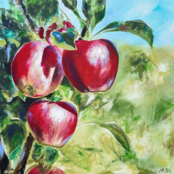 Apples - Fine Art Print - Prophetic Christian Fine Art by Mindi Oaten Art
