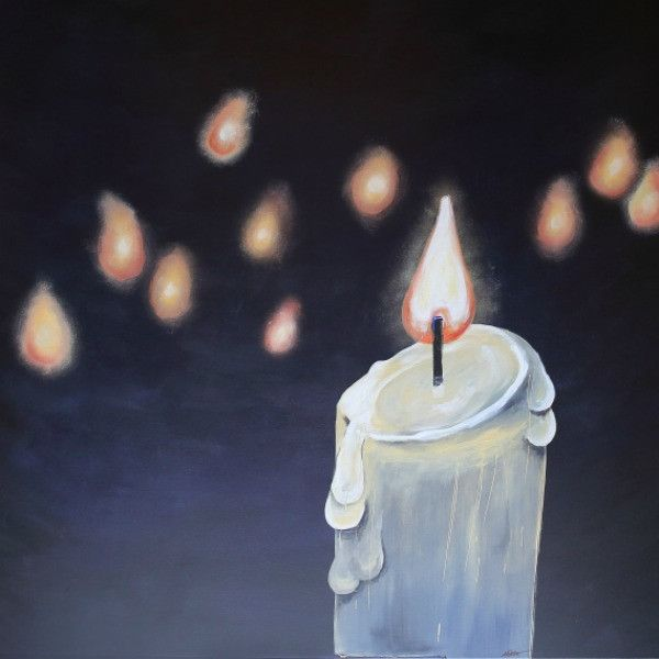 Army of Light - Fine Art Print - Prophetic Christian Fine Art by Mindi Oaten Art