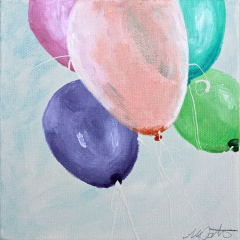Balloons | Day 7 - Fine Art Print - Prophetic Christian Fine Art by Mindi Oaten Art