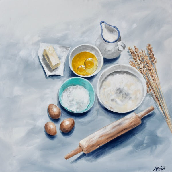 Simple Ingredients - Fine Art Print - Prophetic Christian Fine Art by Mindi Oaten Art