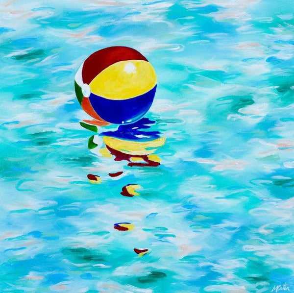 Beach Ball - Fine Art Print - Prophetic Christian Fine Art by Mindi Oaten Art