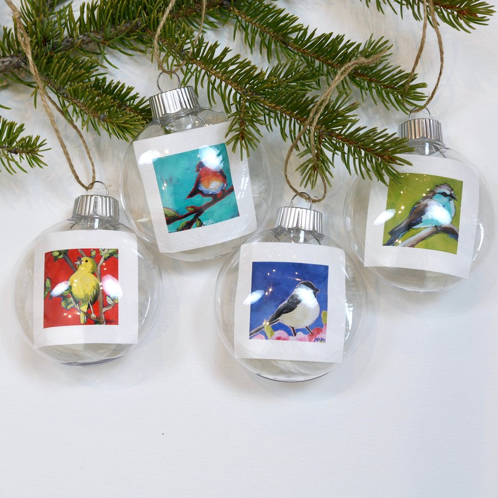 """Birdsong"" - ornament 