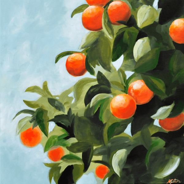 By Your Fruit - Fine Art Print - Prophetic Christian Fine Art by Mindi Oaten Art
