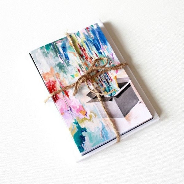 'Cannot Be Contained | reviveIN' Assorted Note Cards - Set of 12 - Mindi Oaten Art