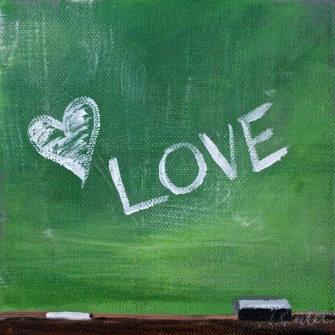 Chalkboard | Day 30 - Fine Art Print - from $20 , Painting - Mindi Oaten Art, Mindi Oaten Art