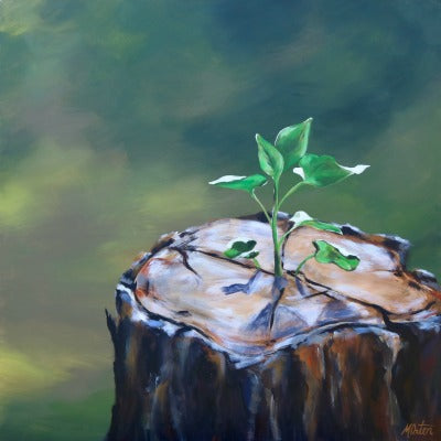 New Life - Fine Art Print - Prophetic Christian Fine Art by Mindi Oaten Art