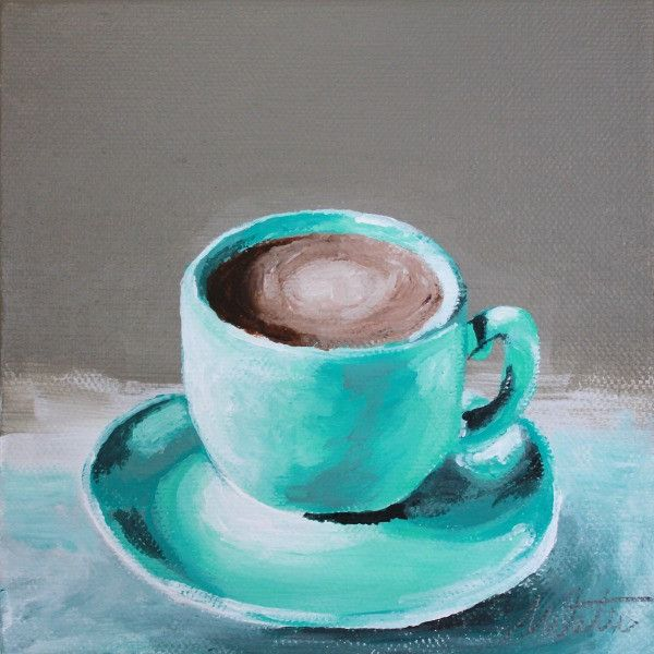 Coffee Cup | Day 26 - Fine Art Print - Prophetic Christian Fine Art by Mindi Oaten Art
