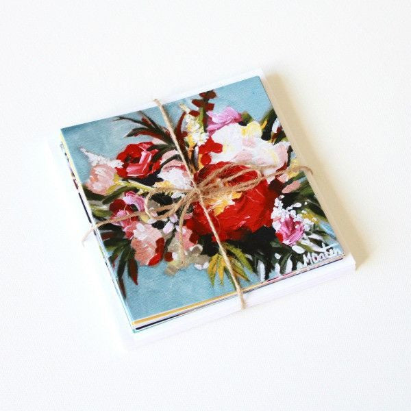 'Beauty & Spice' Assorted Note Cards - Set of 12 - Mindi Oaten Art