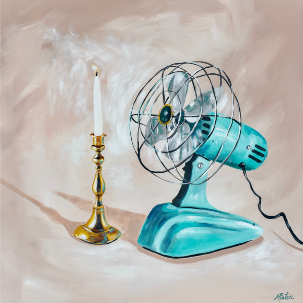 Fan the Flame - Fine Art Print - Prophetic Christian Fine Art by Mindi Oaten Art