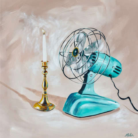 Fan the Flame - Fine Art Print - from $20.00