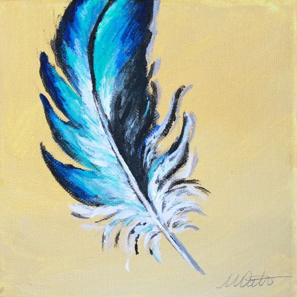 Feather | Day 9 - Fine Art Print - Prophetic Christian Fine Art by Mindi Oaten Art