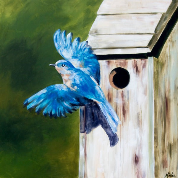 Freedom Song - Fine Art Print - Prophetic Christian Fine Art by Mindi Oaten Art