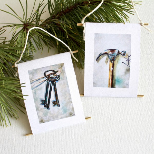 """Hammer & Keys of Authority"" - mini collectible 
