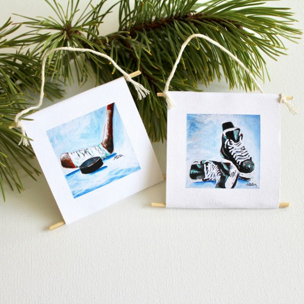 """Little Hockey Player"" - mini collectible 